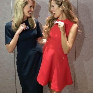Bronx and Banco Dresses - Bronx and Banco Viola Red Mini Dress